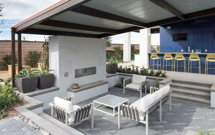 4 great ways to create an outdoor living space