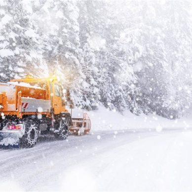 Salt storage barns: The key to safe winter roads