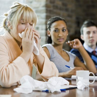 Coughing? Bring a Healthy Dose of Sick-Etiquette to Work